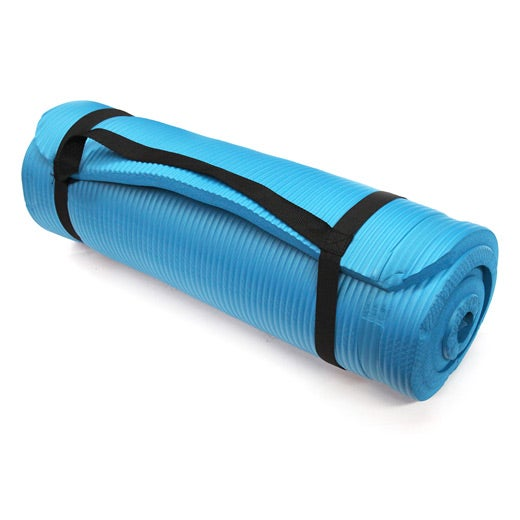 Deluxe Yoga Mat with Carry Handle | Buy Yoga & Workout