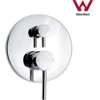 Wall Mount Round Shower/Spout Diverter Mixer Tap Watermark