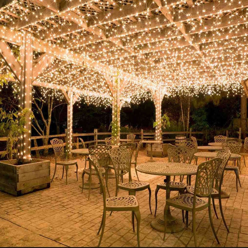 the latest 32c3b 2fa44 200 LED Indoor Outdoor Waterproof Solar Fairy String Lights Party Xmas