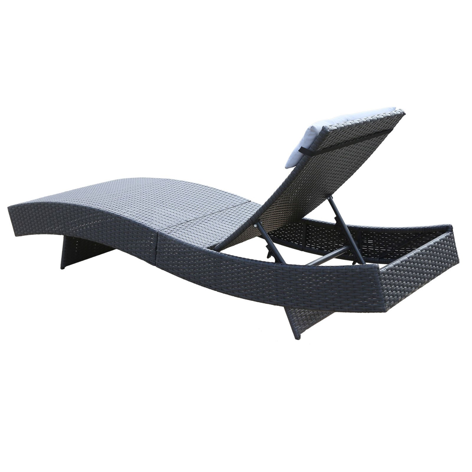 Milano Outdoor Sun Lounge Pool Bed Deck Rattan Chair