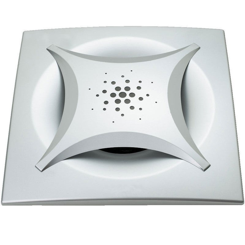 Heller DIY Silver Square Ceiling Exhaust Fan Outlet Duct ...