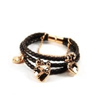 The Brown Heart Jangles Bracelet