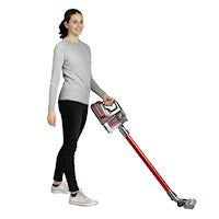 Rechargeable Cordless Vacuum Red