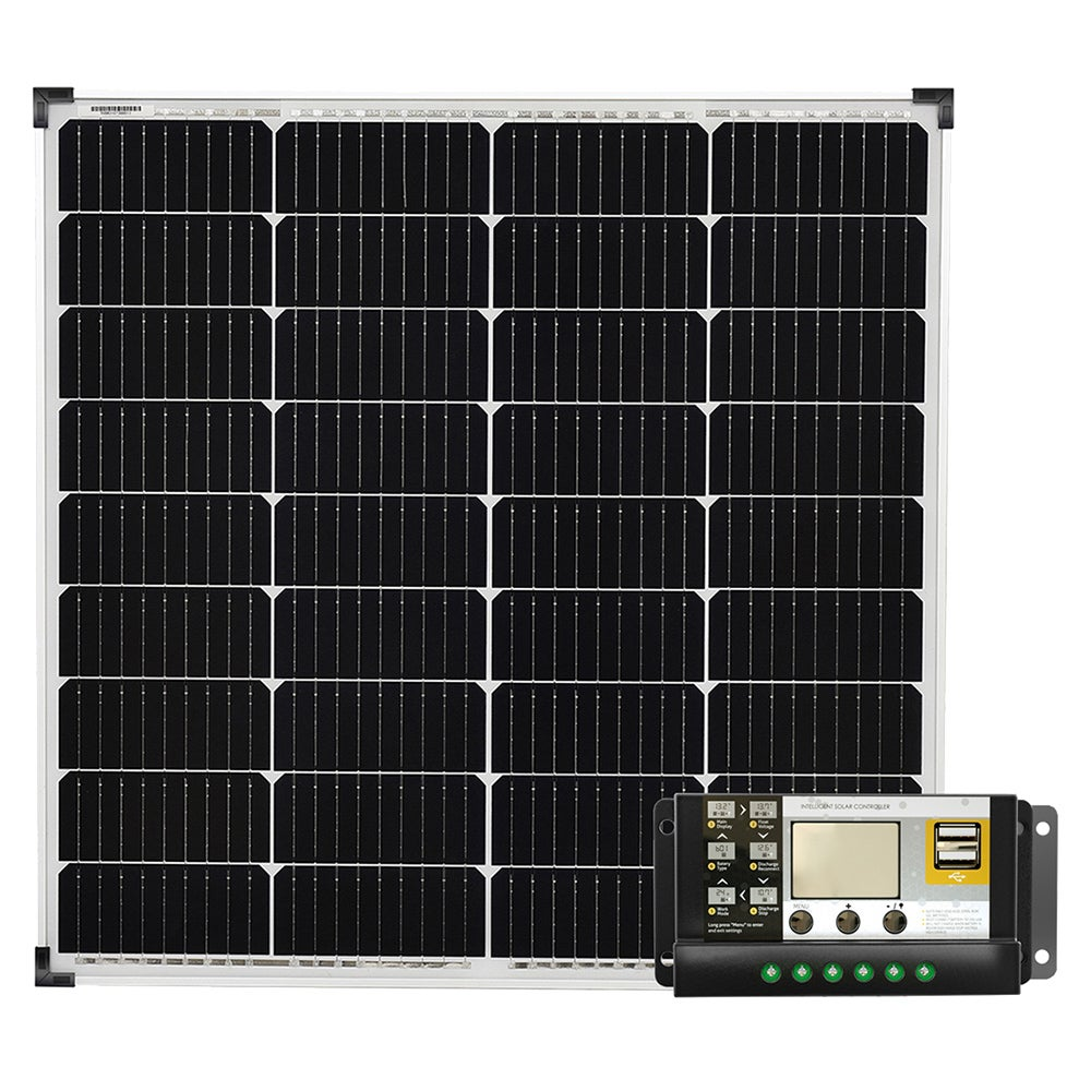 12v 200w Solar Panel Kit Mono 20a Contoller 200 Watt