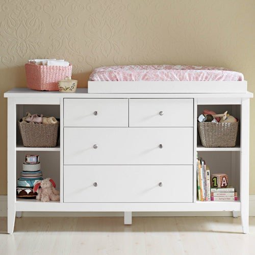 Baby Change Table with Chest of Drawers & Shelves | Buy Changing Tables - 28660