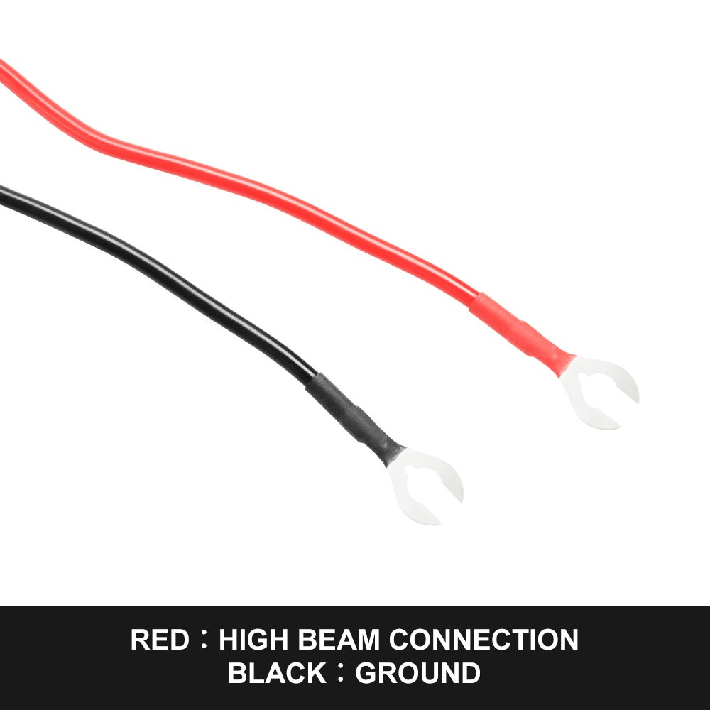 Led Wiring Loom Harness Kit W   Rocker Switch Driving Light
