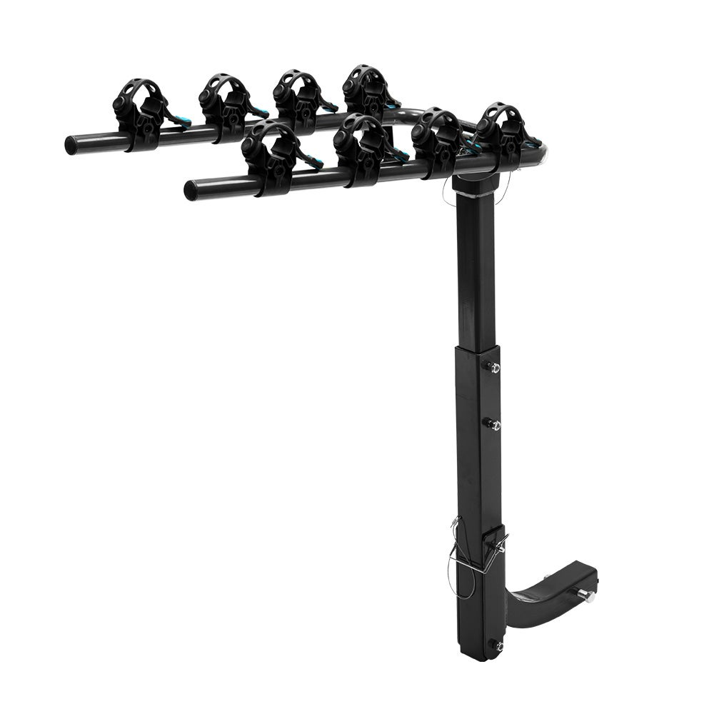 Bike Carrier Rack >> San Hima Bike Carrier 4 Bicycles Car Rear Rack 2 Towbar Hitch Mount Foldable