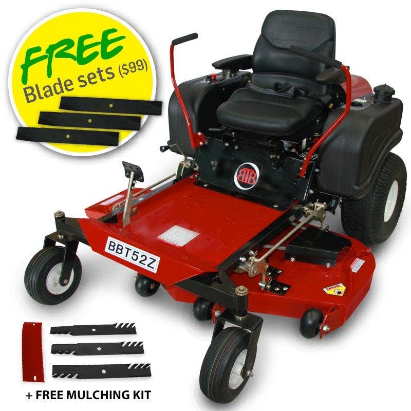 Bbt Apache 52 Quot Zero Turn Mower Buy Lawn Mowers 113719