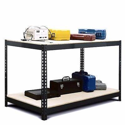 Baumr-AG Garage Work Bench & Shelving Storage Rack   Buy ...