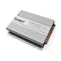 PowerVox 4 Channel 2800 Watt Car Amplifier Silver