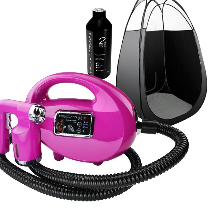 Diamond Spray Tanning Machine Combo Pack Pink Buy Spray