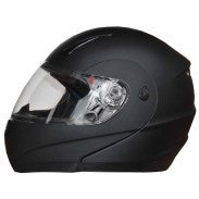 Modular Motorcycle Helmet with Full Face Protection