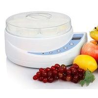 Eware Electric Yoghurt Maker 8 Cup Digital Lcd Temp Timer 150Ml Cup X8 Xj-5K102