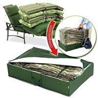 Airtight & Watertight Patio Cushion Storage Tote