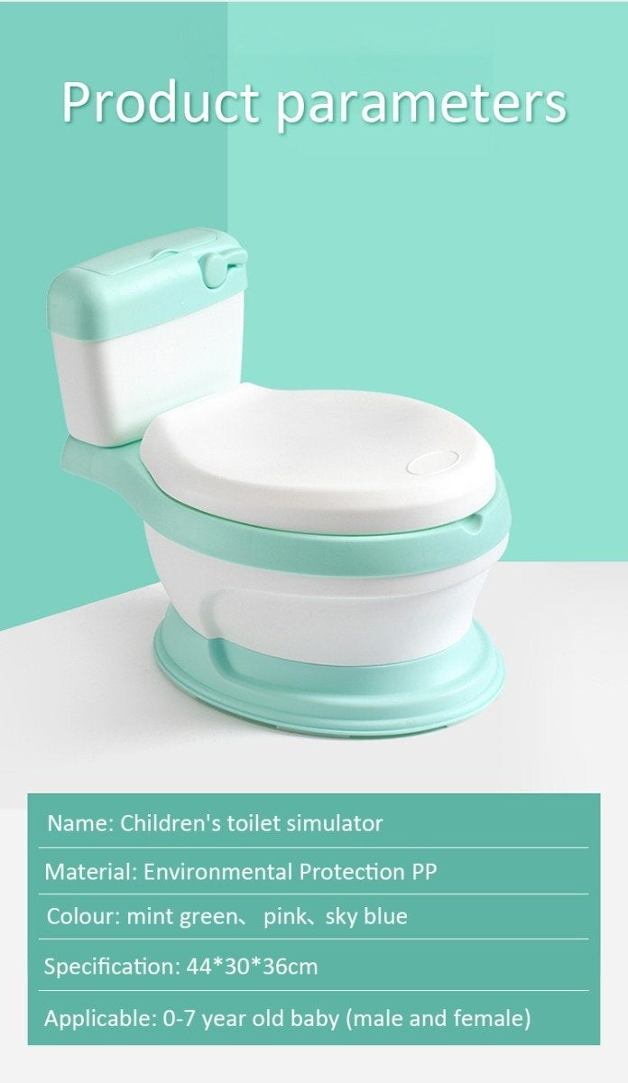 Joy Baby My First Toilet Training Potty - Blue | Buy Kids ...