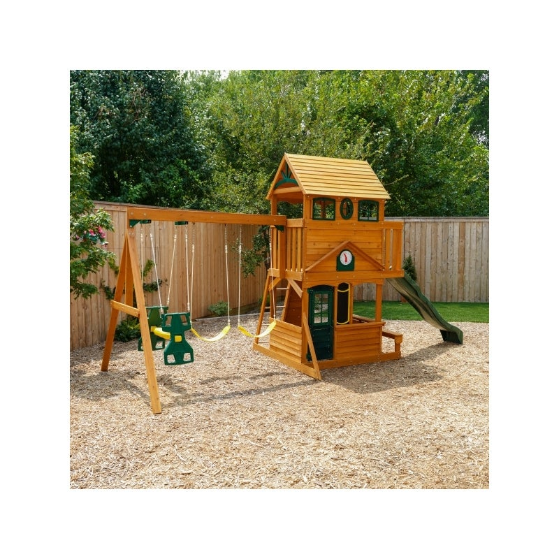 Big Backyard Ashberry Ii Wooden Play Set