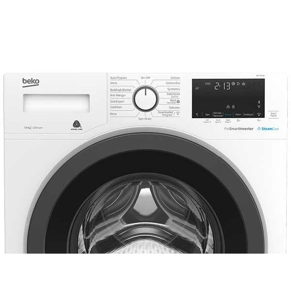 Beko 7.5kg Front Loading Washing Machine - BFL7510W *Visa ...