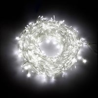 Jingle Jollys Icicle Lights Christmas 800 LED Outdoor Fairy String Party Wedding