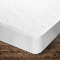 Giselle Bedding Queen Size Terry Cotton Mattress Protector