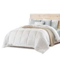 Australian Wool Quilt 700GSM w/ Australian Merino Wool 100% Cotton Cover Dusk Goose Down Alternative Doona Blanket All Seasons Winter Weight King Size Bed
