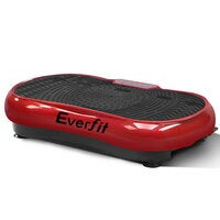 Everfit Vibration Machine Machines Platform Plate Vibrator Exercise Fit Gym Home Helth