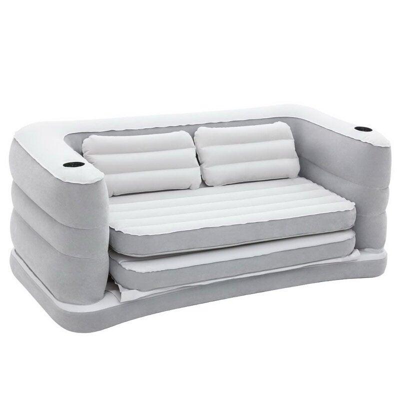 Terrific Bestway 2 In 1 Air Couch Air Sofa Bed Inflatable Mattresses Mats Machost Co Dining Chair Design Ideas Machostcouk