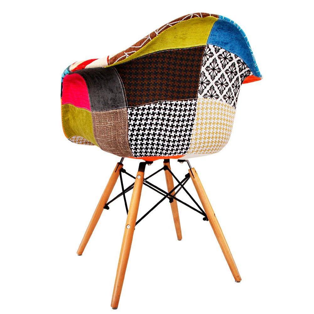 Artiss 2x Retro Replica Eames DAW Dining Chairs Kitchen ...