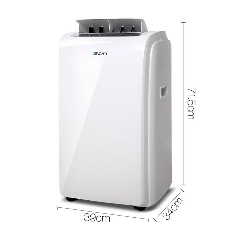 devanti portable reverse cycle heater and air conditioner
