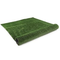 Primeturf 2X10M Synthetic Artificial Grass Fake Turf Olive Plants Plastic Lawn 10mm