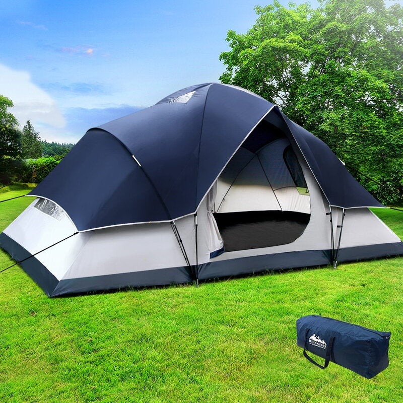 Camping Tent 6 Person Hiking Beach Tents Canvas Swag ...