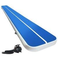 Everfit 6M Airtrack Inflatable Air Track Tumbling Mat Pump Floor Gymnastics 20CM