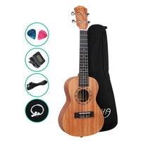 """26"""" Tenor Ukulele Mahogany Ukuleles Uke Hawaii Guitar Carry Bag Tuner"""