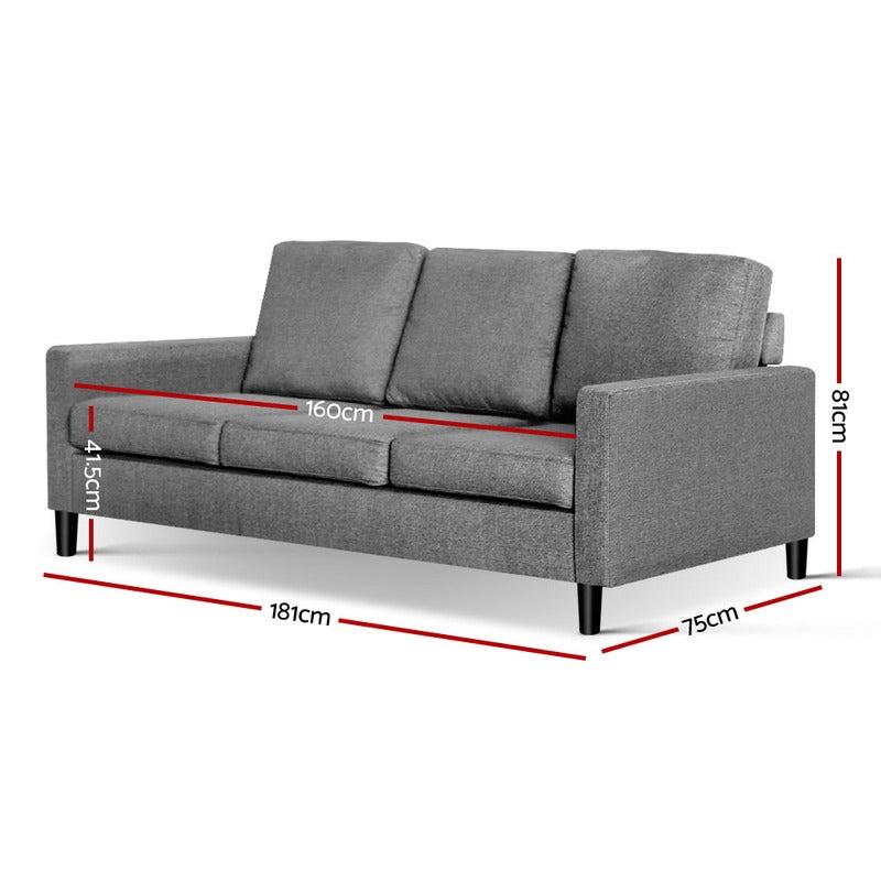 Peachy Artiss 3 Piece Sofa Set Unemploymentrelief Wooden Chair Designs For Living Room Unemploymentrelieforg