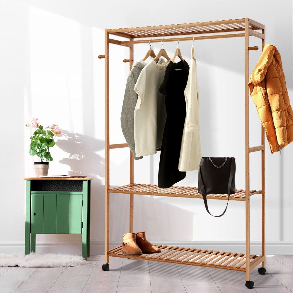 Pack of 10 White Wooden Clothes Garment Coat Skirt Trouser Hangers NEW
