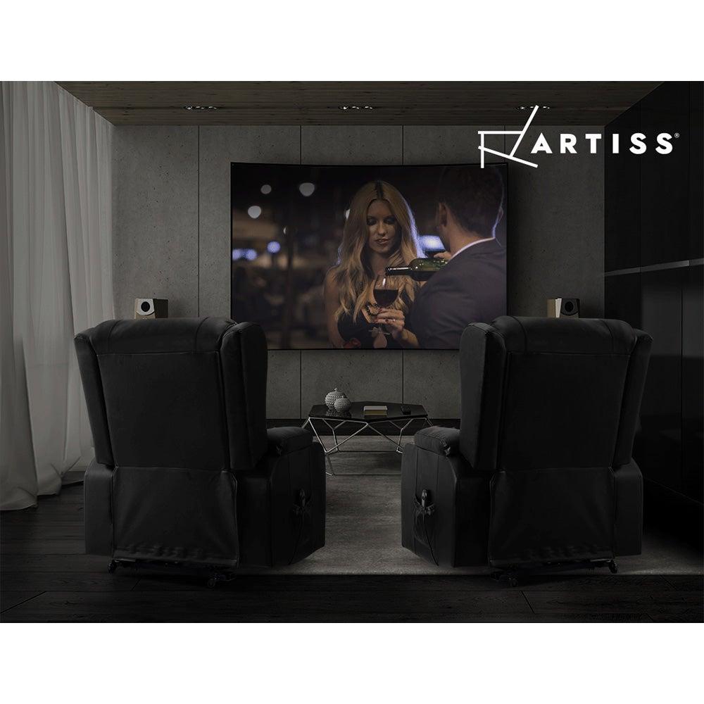 Artiss Electric Recliner Chair Lift Heated Massage Chairs