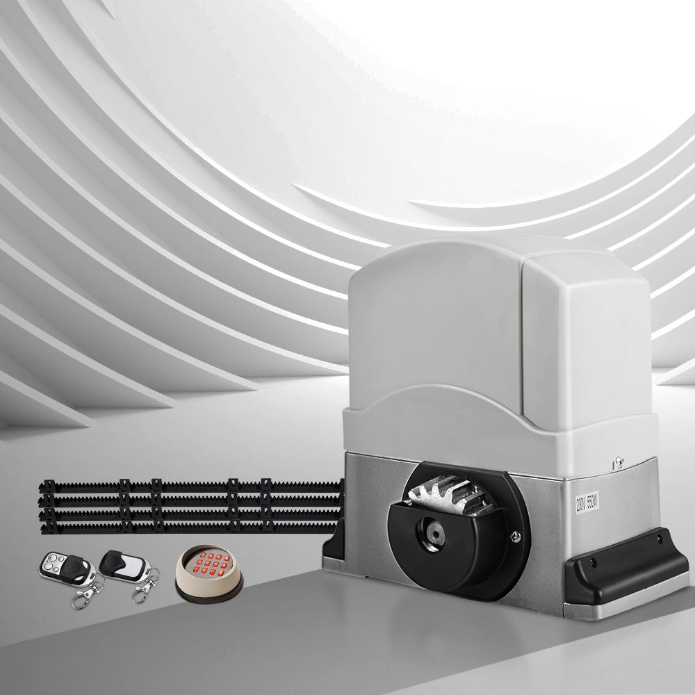 Lockmaster Electric Sliding Gate Opener 1200kg Automatic