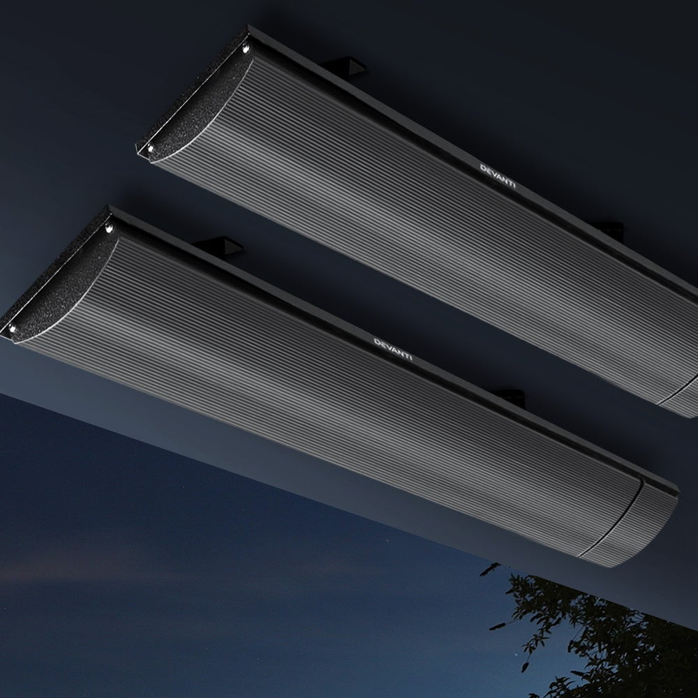 Devanti 2x 3200w Electric Radiant Heating Panel Outdoor