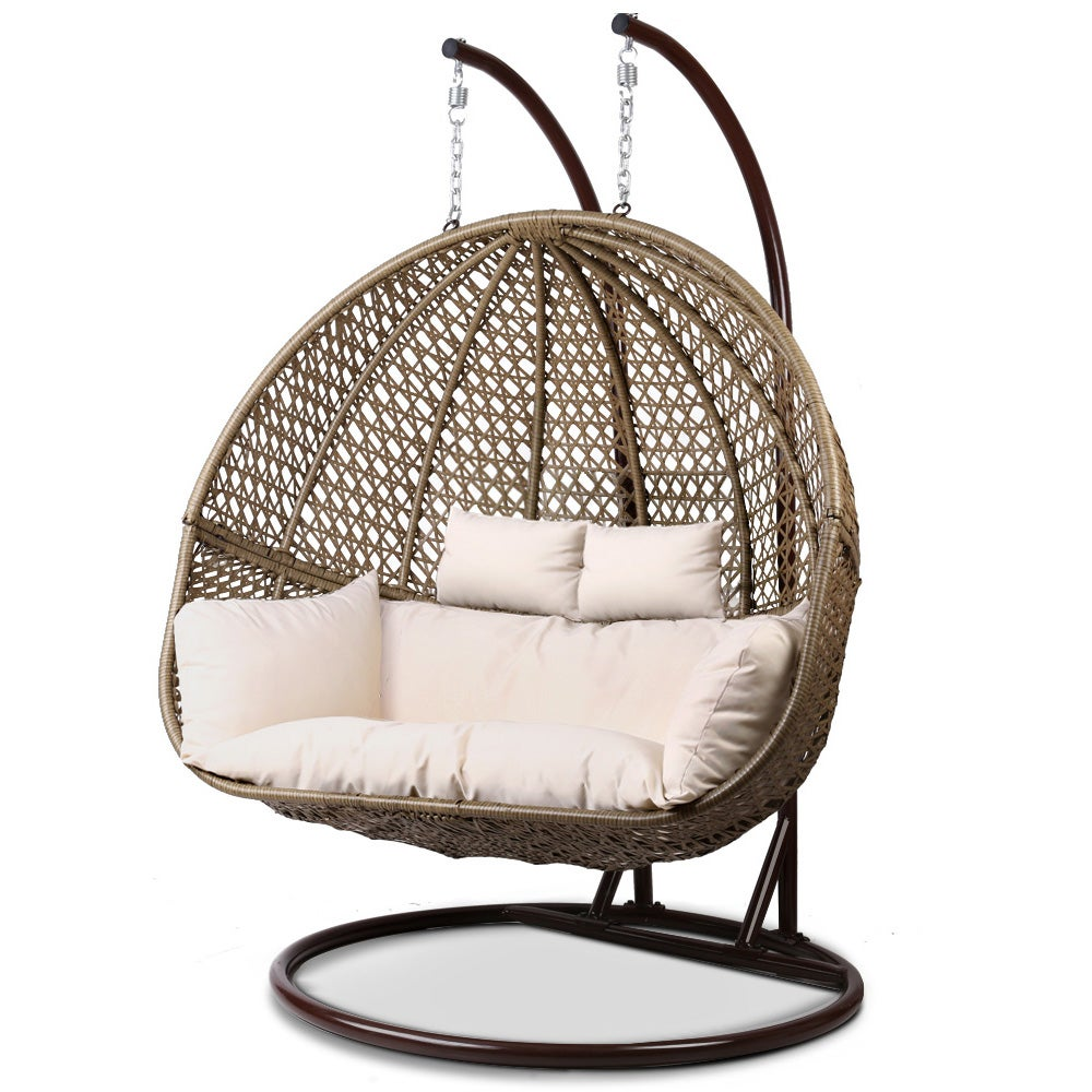 Outdoor Furniture Wicker Hanging Swing Chair Egg Hammock