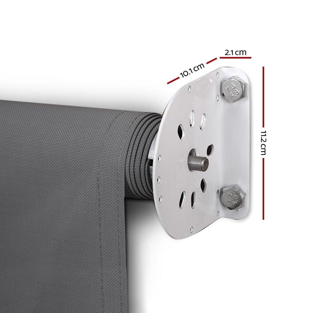 Instahut Retractable Fixed Pivot Arm Window Awning Patio ...