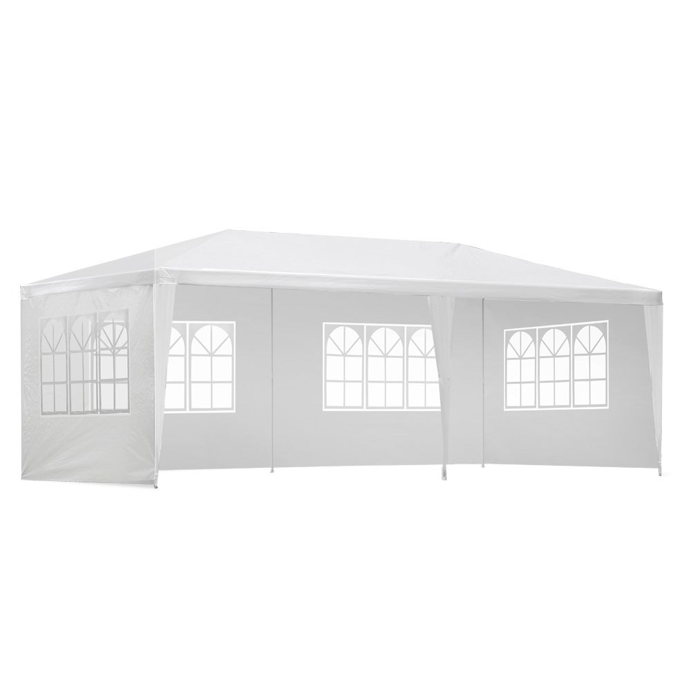 Wedding With White Tent: 3x6m Outdoor Gazebos Party Wedding Marquee Tent Camping