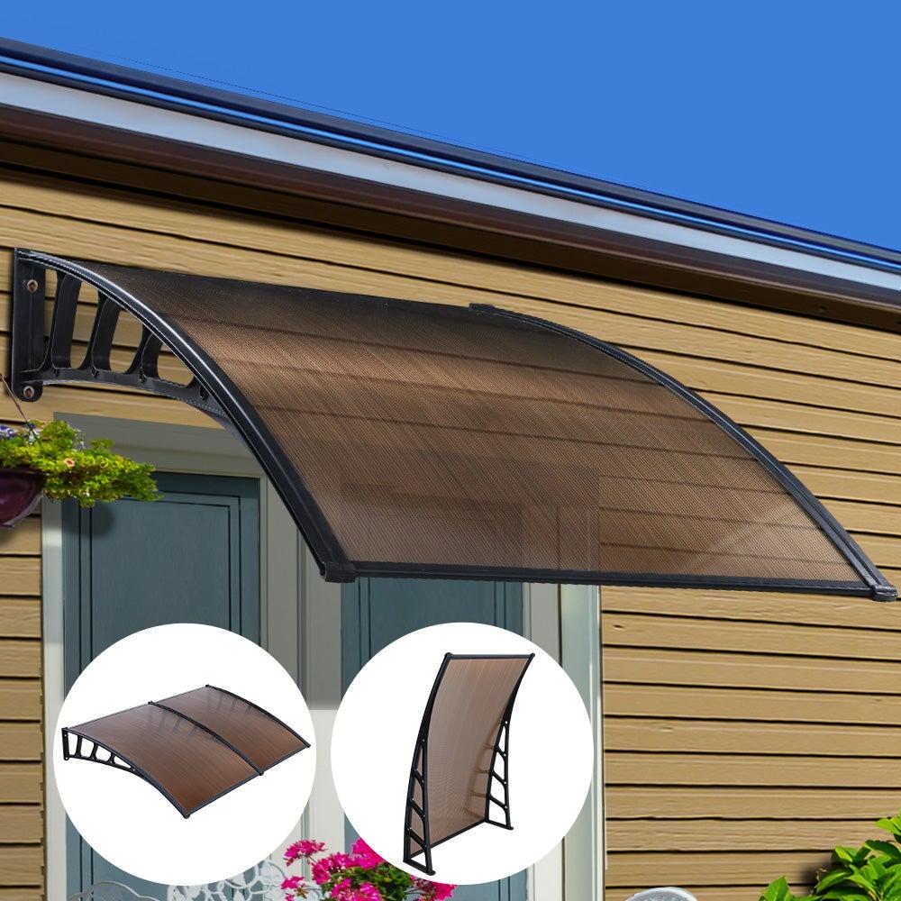 Instahut Window Door Awning Door Canopy Outdoor Patio ...