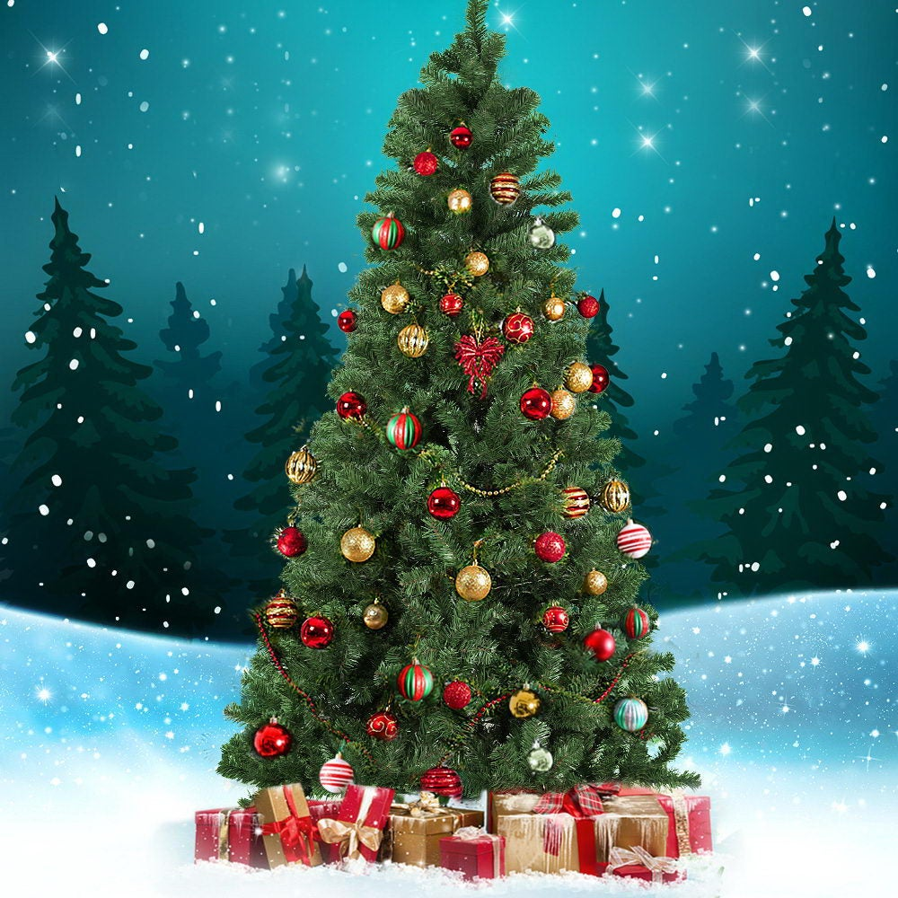 Jingle Jollys 2.4M 8FT Christmas Tree Xmas Decoration 1000 ...