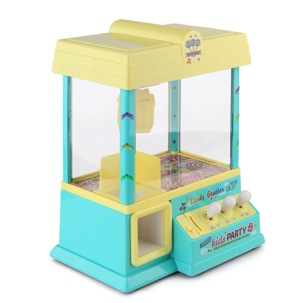 Keezi Claw Machine Mini Candy Grabber Kids Game Vending ...