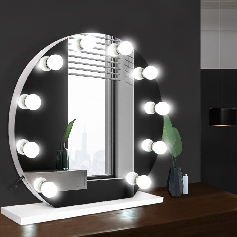 Hollywood Makeup Mirror Led Light Bulbs Lighted Beauty