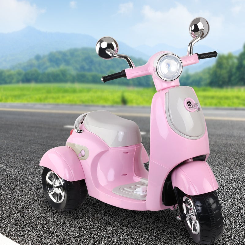 Kids Ride On Motorcycle Motorbike Electric Car Scooter