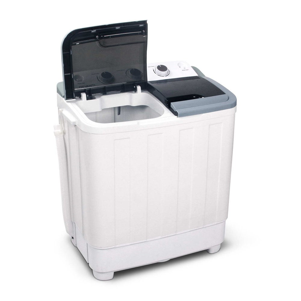 Devanti 5KG Mini Portable Washing Machine - White | Buy ...