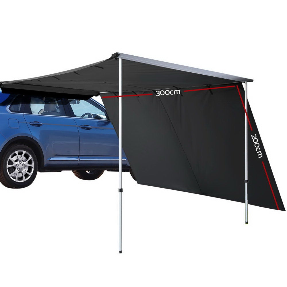Weisshorn 3MX2M Car Side Awning Extension Roof Rack Top ...