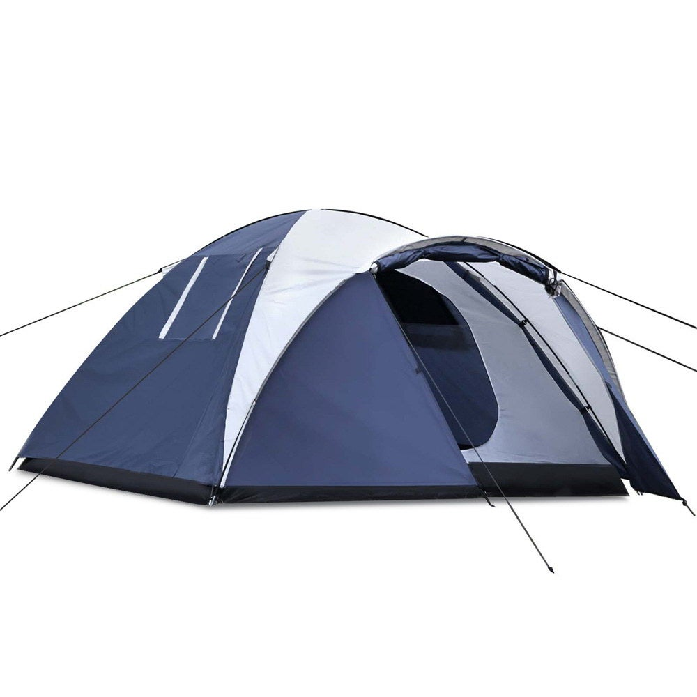 Camping Tent 4 Person Hiking Beach Tents Canvas Swag ...