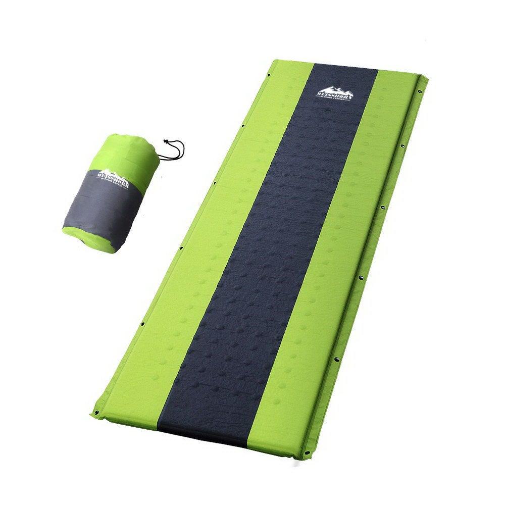 Self Inflating Mattress Camping Sleeping Mat Air Bed Pad ...