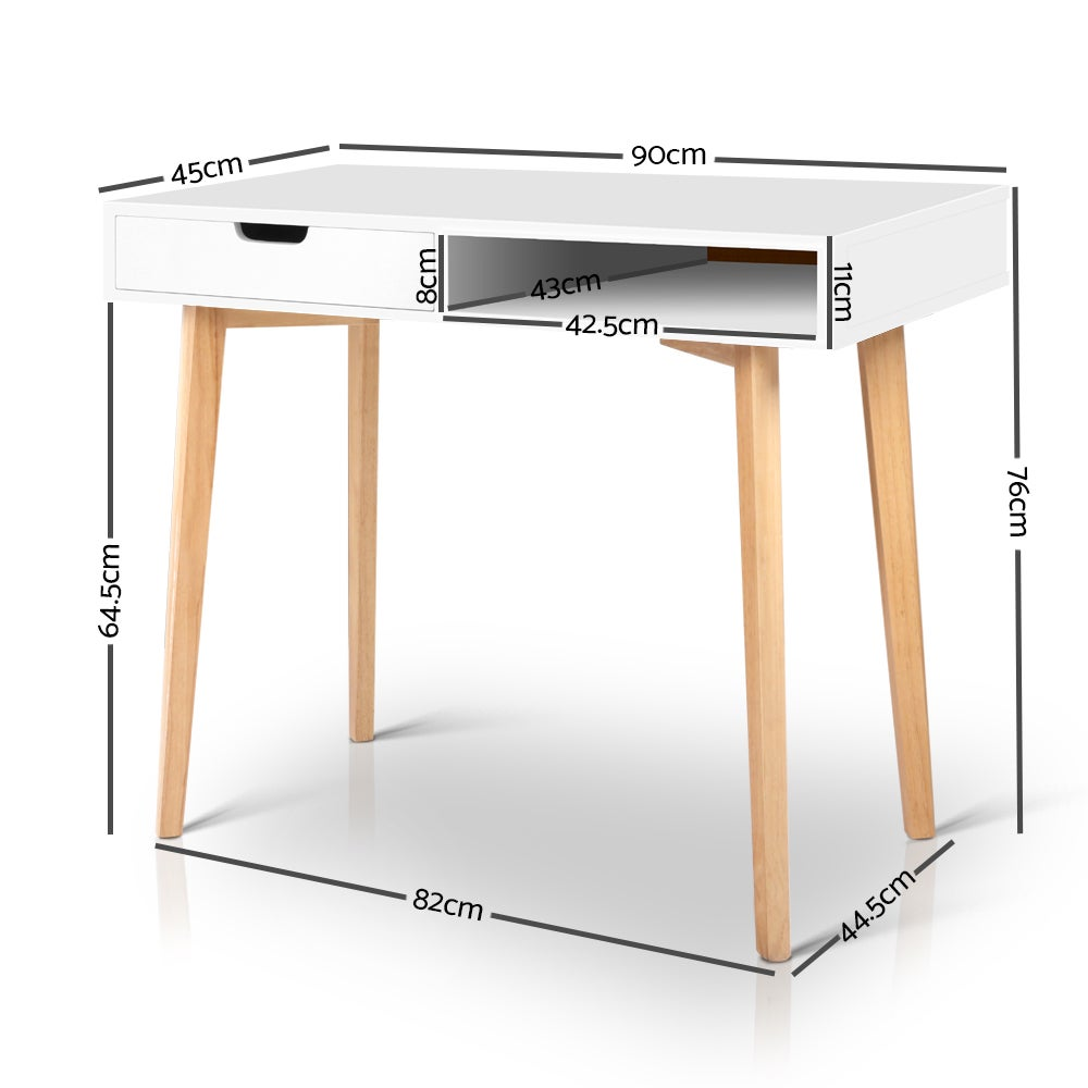 Artiss Office Computer Desk Study Table Storage Drawers ...